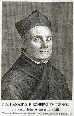 Athanasius Kircher, German Scholar Poster by Library For The Performing Artsnew York Public Library