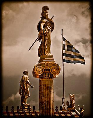 Athens, Greece - Athena Nike Poster