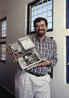 Atul Chitnis, Computer Consultant Poster by Volker Steger