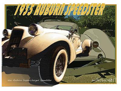 Auburn Speedster Poster