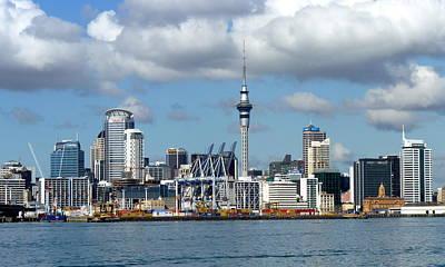 Auckland Skyline Poster