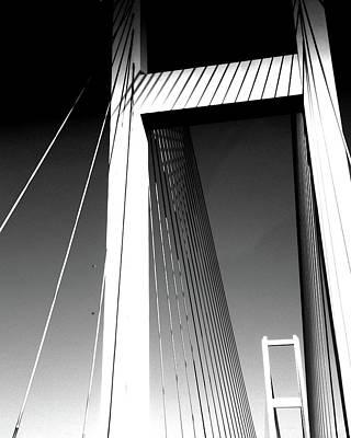 Audubon Bridge Louisiana Poster