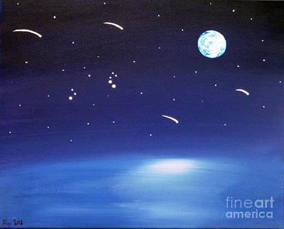 August Celestial Trinity Poster