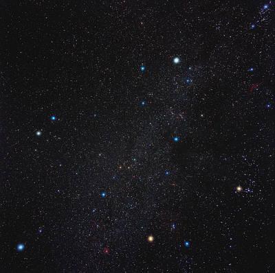 Auriga Constellation Poster