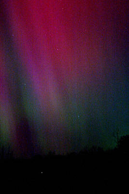 Poster featuring the photograph Aurora 03 by Brent L Ander