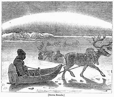 Aurora Borealis, 1833 Poster