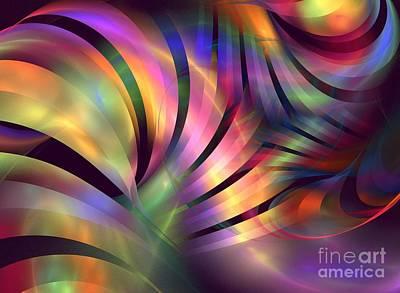 Aurora Borealis Poster by Kim Sy Ok