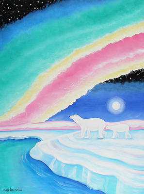 Aurora Borealis  Poster by Tracy Dennison