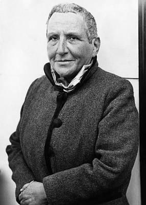 Author Gertrude Stein, 1934 Poster