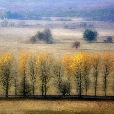 Autumn At Blumenthal Poster by Old&timer Imagery