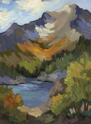 Autumn At South Lake Poster by Diane McClary