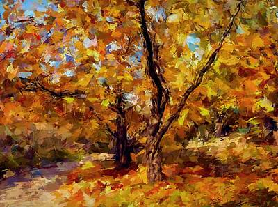 Autumn Colors 3 Poster by Yury Malkov