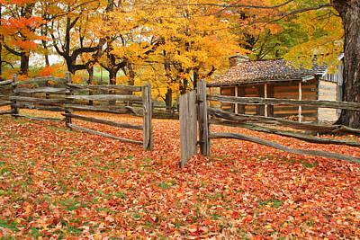 Autumn Poster by Darren Fisher