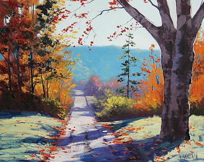 Autumn Delight Poster