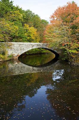 Autumn In Blackstone Valley Poster