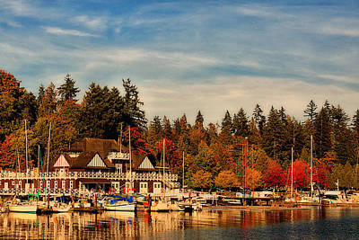 Autumn In Canada - Stanley Park Poster