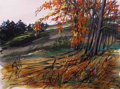 Autumn Intensity Poster by John Williams