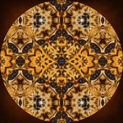 Autumn Mandala Poster by Georgiana Romanovna