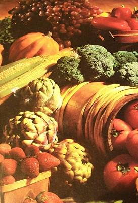 Poster featuring the photograph Autumn's Bounty by Sharon Duguay