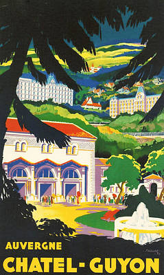 Auvergne France Poster