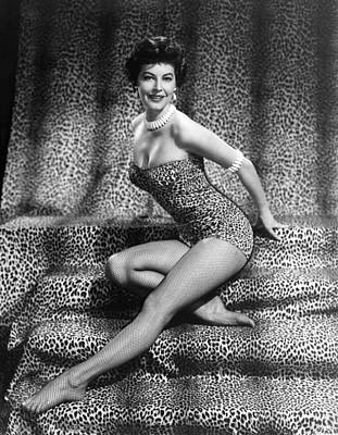 Ava Gardner, Ca. Mid-1950s Poster by Everett