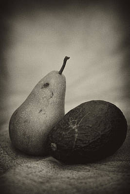 Poster featuring the photograph Avocado And Pear by Hugh Smith
