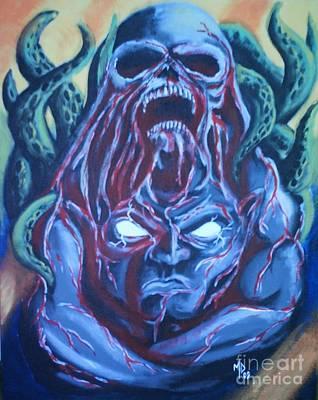 Awakened From Stone Poster by Matt Detmer