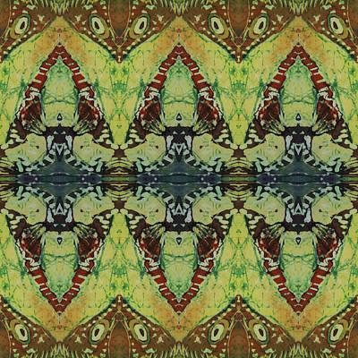 Azuraz Buff Tiled Poster by Sue Duda