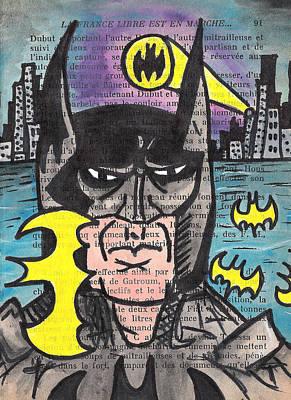 B-man Poster by Jera Sky