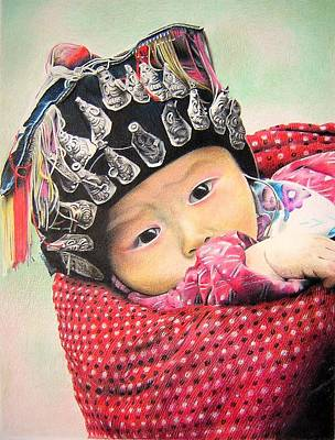 Baby Miao Poster by Eric Pouillet