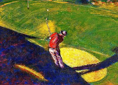 Babyboomer Golfing Poster
