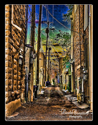 Poster featuring the photograph Back Alley by Linda Constant