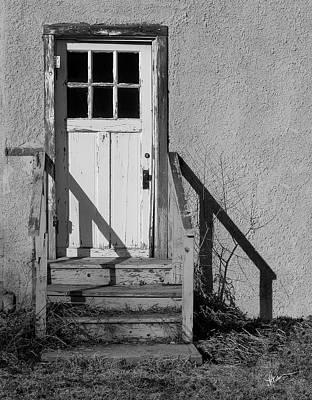 Back Door Poster by Vicki Pelham