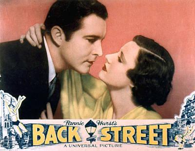 Back Street, John Boles, Irene Dunne Poster