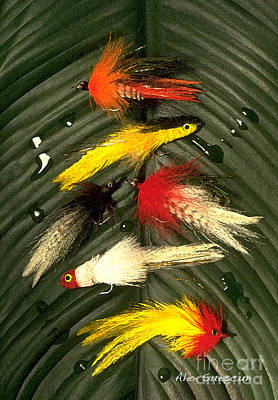 Backcountry Flies Poster