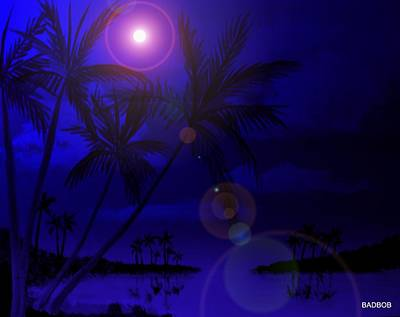 Bad Moon Shinning Poster