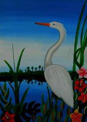 Badswan Bird Type Thing  Poster