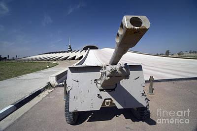 Baghdad, Iraq - An Iraqi Howitzer Sits Poster