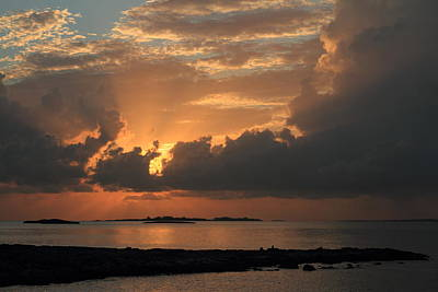 Poster featuring the photograph Bahamas Sunset by Coby Cooper