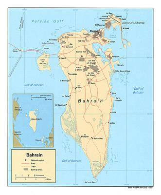 Bahrain. 2003 Poster by Everett