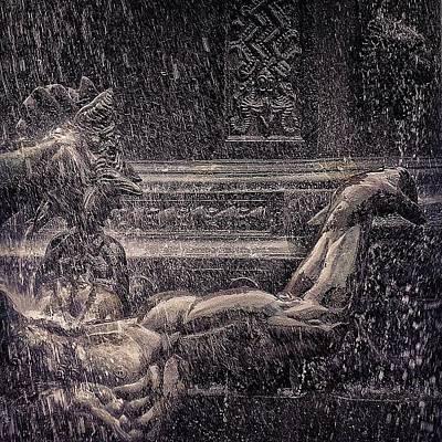 Bailey Fountain - Ny Poster