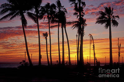 Poster featuring the photograph Baja Sunset La Paz  Mexico by John  Mitchell