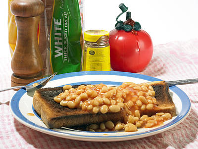 Baked Beans On Toast Poster