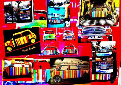 Bali Paul Smith Fake Minis Poster by Funkpix Photo Hunter