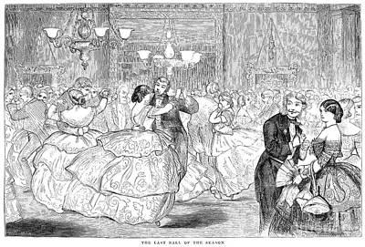 Ball, 1858 Poster by Granger