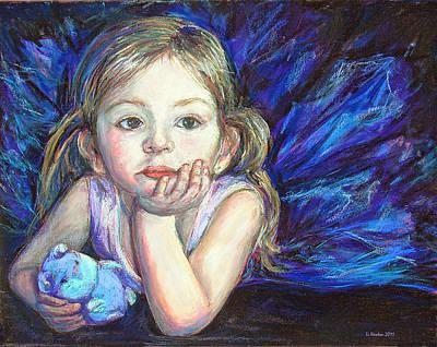 Ballerina Dreams Poster by Li Newton