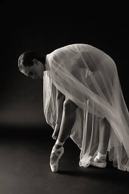 Ballerina Poster by Hugh Smith
