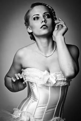 Ballerina Poster by Ralf Kaiser
