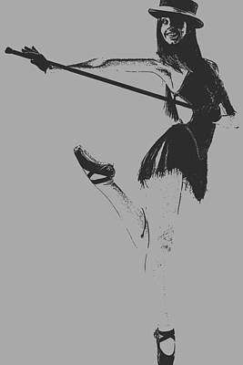 Ballet Girl Poster by Naxart Studio