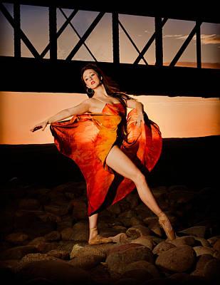 Ballet Sunset Poster